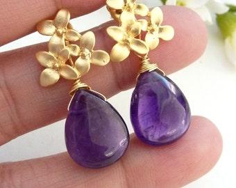 12 missing pendants (SE-4870-3CL) - violet purple with platinum plated