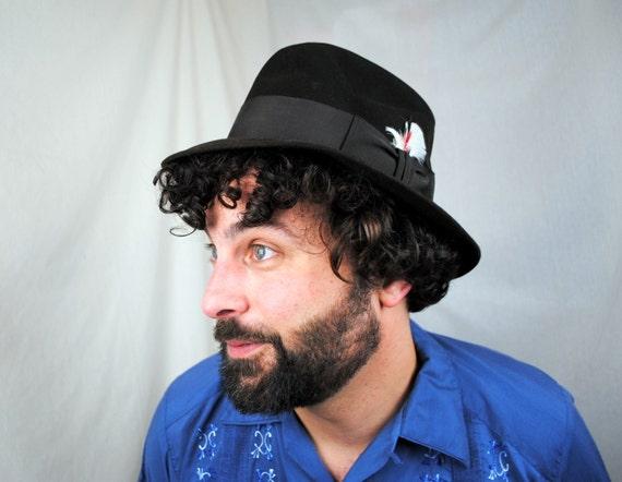 Great Vintage Mid Century Steven's Beaver Derby Fedora Hat