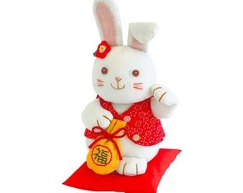Patchwork Lucky Bunny  - Japanese craft kit