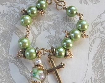 Magnetic Rosary Bracelet
