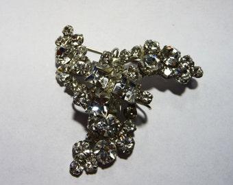 Vintage Juliana Rhinestone Pinwheel Brooch Pin on Etsy