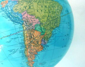 Vintage Crams Imperial World Globe Office Decor