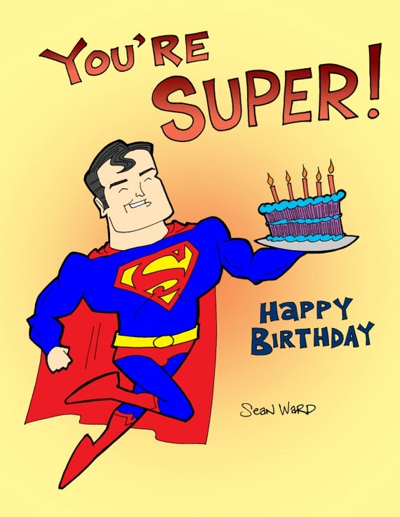 superman birthday clipart - photo #29