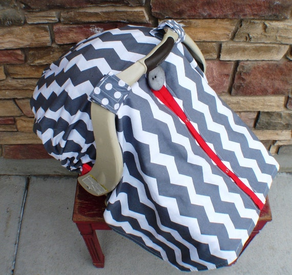 Add a fitted back to your car seat canopy / Car seat cover / car seat canopy / carseat cover / carseat canopy / nursing cover