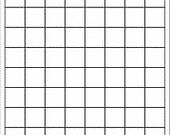 1 inch square, REMOVABLE white labels, 10 sheets (800 labels)