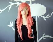 Bubblegum - Pink Superlong Wig - FREE SHIPPING