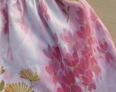 Little Girls Vintage Pink Pillowcase Skirt size 3T