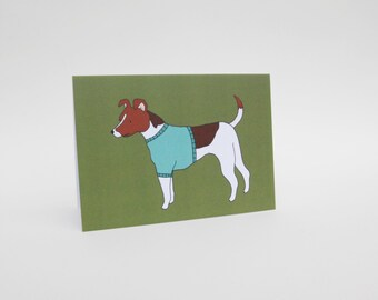 Jack Russell - Dog Card - Blank