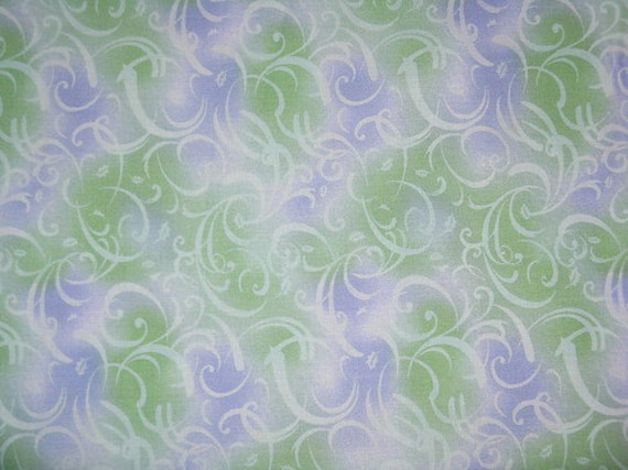 Items Similar To Shower Curtain Green And Purple Swirl 72x72 On Etsy