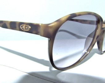 Mens 1980s DIOR  Sunglasses // 80s Vintage Designer Frames //  Large lens  // model 2352 // made in Germany // Christian Dior