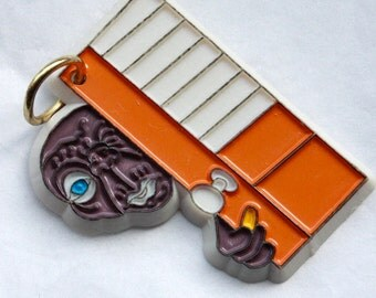 Original Vintage 1980s E. T. The Extra- Terrestrial Pendant // Sci Fi Collectible // Movie Memorabilia