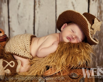 Cowboy Baby Outfit - Baby Girl Cowboy Outfit - Baby Western Outfit - Girl Cowboy Outfit - Baby Boy Cowboy Outfit - Cowboy Outfit