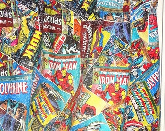 Marvel Comics The Avengers Iron Man Hulk Thor Captain America Valance Curtain