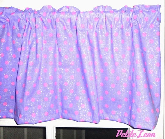 Polished Nickel Shower Curtain Rod Purple Polka Dot Hair