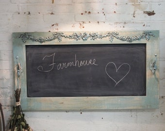 Painted Cottage Chic Shabby Large Chalkboard HD40