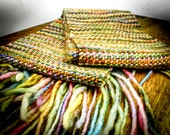 Tosh hand woven scarf - plain weave FREE US SHIPPING