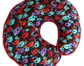Boppy Pillow Cover Baby Skulls Nursing Pillow Cover for baby boy or girl