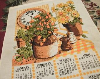 1983 Kitchen Wall calendar
