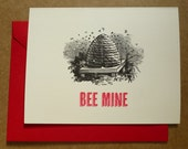 Valentine's Day Card Bee Mine