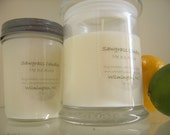 12 oz Soy Wax Candles in Glass Jar - Choose Your Scent