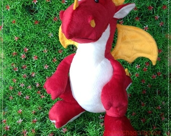 Dragon B 12 inches - PDF Sewing pattern