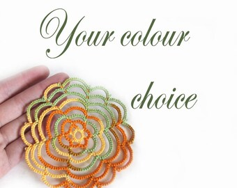 Spiral Coasters - Your Choice Of Colour - Set Of Four - Cathy
