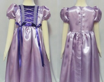 Girl's Princess Dressup Dress Up Costume Cosplay Rennaisance Size 2 4 5 6 7 8 9 10 Your choice of color
