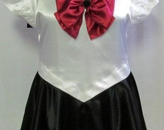 Plus Size Sailor Pluto Scout Costume Cosplay Adult Women's Custom Fit 16 18 20 22 24 Sailor Moon