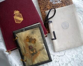 Antique Books and Calendar