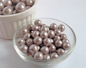 Taupe Fondant Edible Pearls for Cupcakes Cookies Edible Cake Decoration 8mm