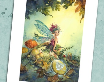 The Faerie Locket 8.5 x 11 Print