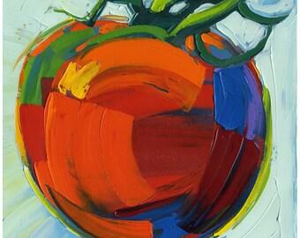 Print - Ripen Tomato -10X10-Modern Fine Art