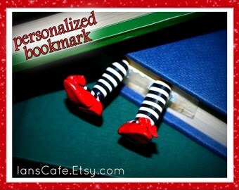 PERSONALIZED -Wicked Witch Bookmark- Etsy Original - Special Message