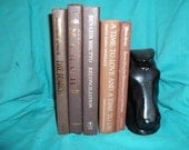 Vintage Brown Copper  Instant Book Collection Photo Prop Decorative Library