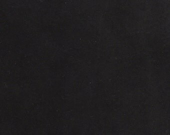 "5248  - Black Recycled Genuine Suede Leather/20.5""x10""handmade supply/sewing/soft- supple/light wt/material leather/leather projects/toys"
