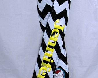 Chevron Personalized Crossbody Quick Release Hipster Camera Strap