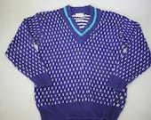 SALE 90's Purple Novelty Sweater