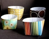 4 Fabric Baskets - Reserved for Melissa