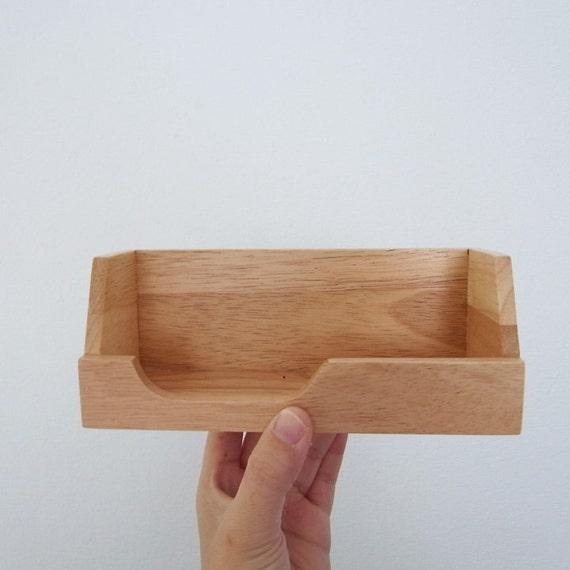 SINGLE Shelf Washi Masking Tape MT Storage Wooden Small Shelf
