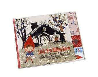 Shinzi Katoh die-cut One Point Sticker / Little Red Riding Hood (Home)