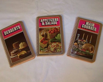 Vintage Collection of 3 Cookbooks by Random House 1967
