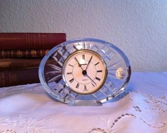 Vintage Crystal Clock