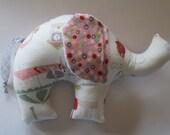 Madeline the Elephant Plush Rattle