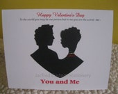 Couple Valentine's day card