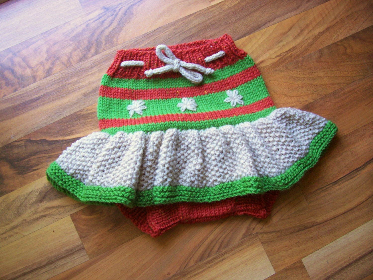 Hand knitted wool cloth diaper cover skirt soaker wool nappy zoom bankloansurffo Images