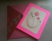 Art Nouveau Rose Valentine