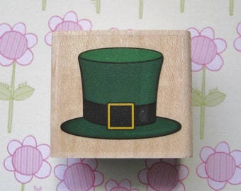 St. Patty's Hat, St. Patrick's Day - Stampabilities Rubber Stamp
