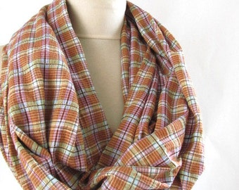 infinity scarf -cotton jersey scarf infinity winter scarf circle scarf loop scarf fashion scarf birthday gifts