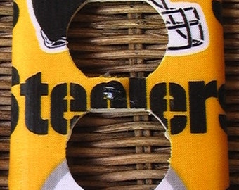 Pittsburgh Steelers  Outlet Cover Plate Yellow or Black Switch Covers to match in shop