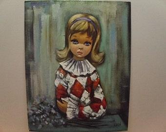 """Vintage 1960's Eden """"Pierrette"""" Litho Print"""